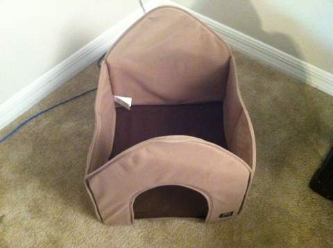 Portable Pet House - roof off