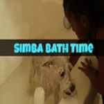 Come Wag Along YouTube: Simba Bath Time