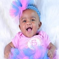 TuTu Cute by Angie + 5 Month Baby Photos