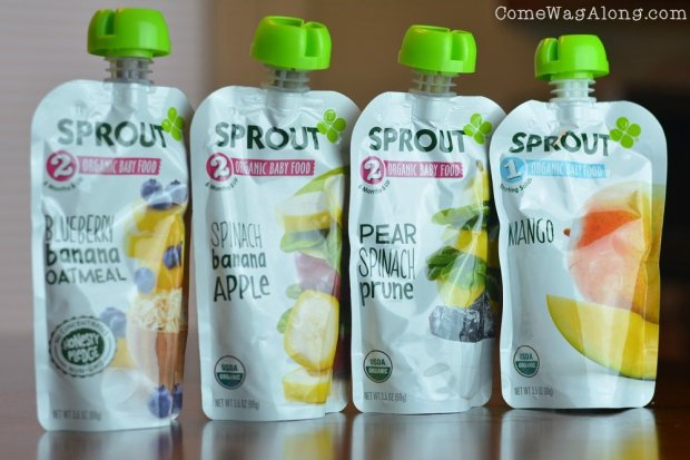 Sprout Organic Baby Food Perfect for New Mom and Baby + BOGO Coupon