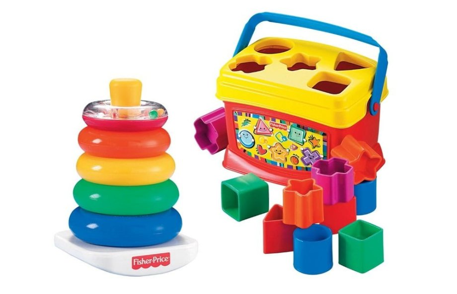 Fisher-Price Baby's First Blocks and Rock Stack Bundle