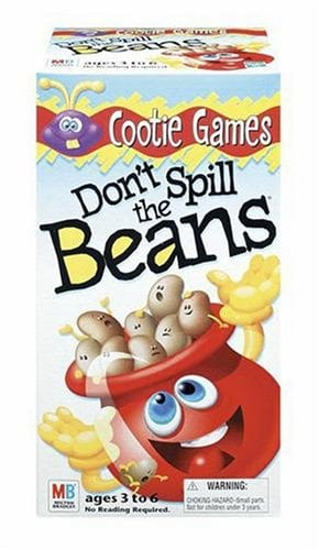 Don't Spill The Beans fun games for kids
