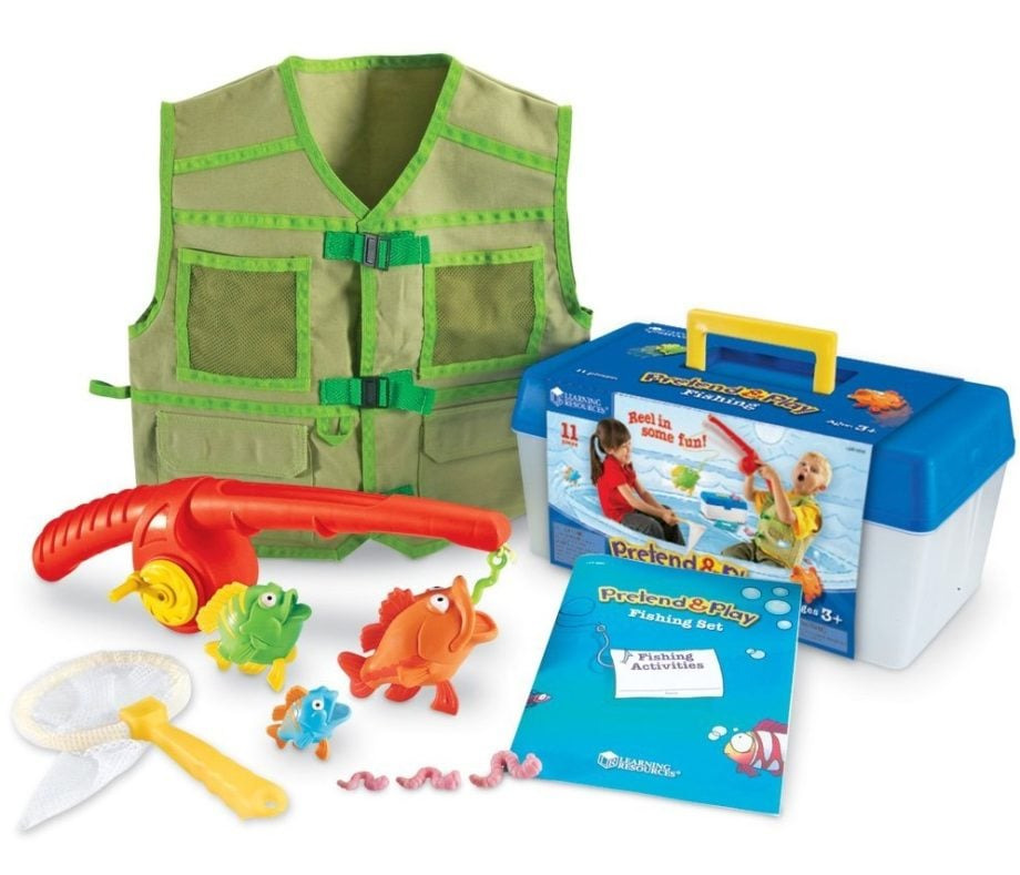 Learning Resources Pretend & Play Fishing Set - ComeWagAlong.com Holiday Gift Guide for Toddlers