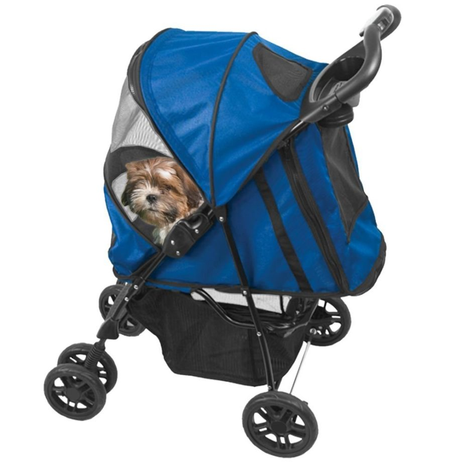 Pet Gear Happy Trails Plus Pet Stroller - ComeWagAlong.com 2016 Gift Guide for Dogs and Dog Lovers