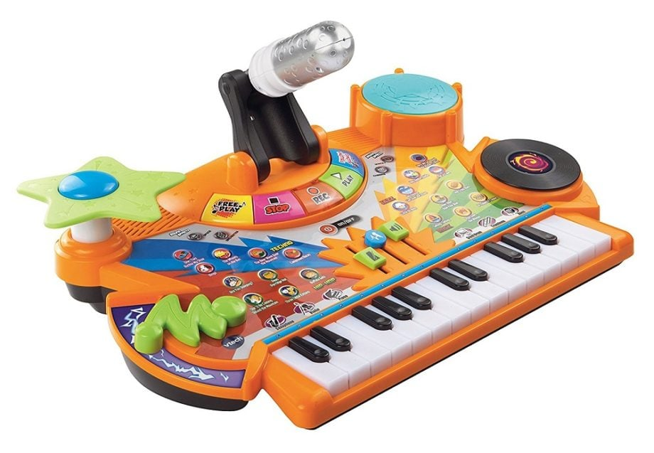 Vtech Record and Learn KidiStudio - ComeWagAlong.com Holiday Gift Guide: Gifts for Kids