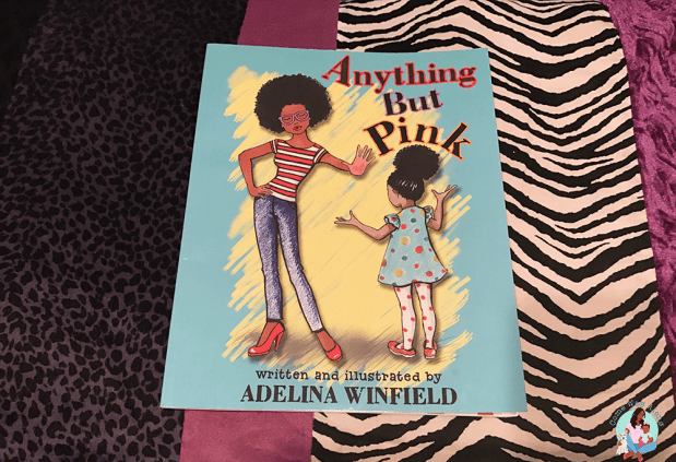 Book Review: Anything But Pink by Adelina Winfield