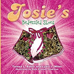 josie's bedazzled shoes book cover