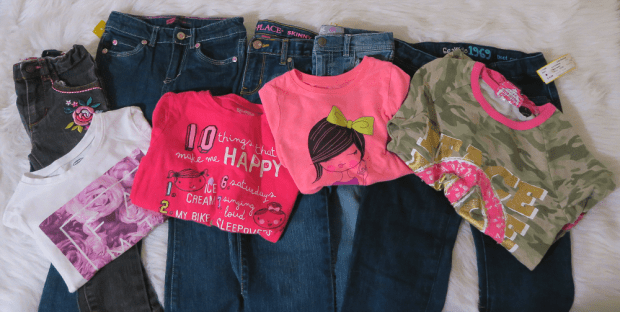 kids clothing haul