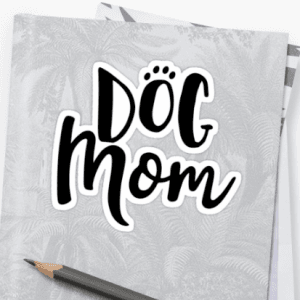 dog mom stickers