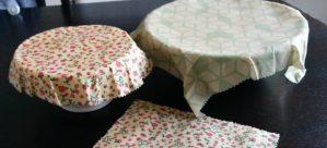 bees wrap | bee's wraps | bivoks wrap | indpakning | undgå madspild | undgå staniol | DIY af stof og bivoks | bivoks papir