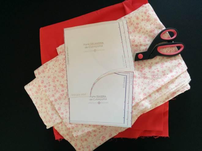 Materialer og mønster til bloomers baby