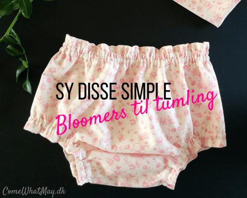 DIY bloomers