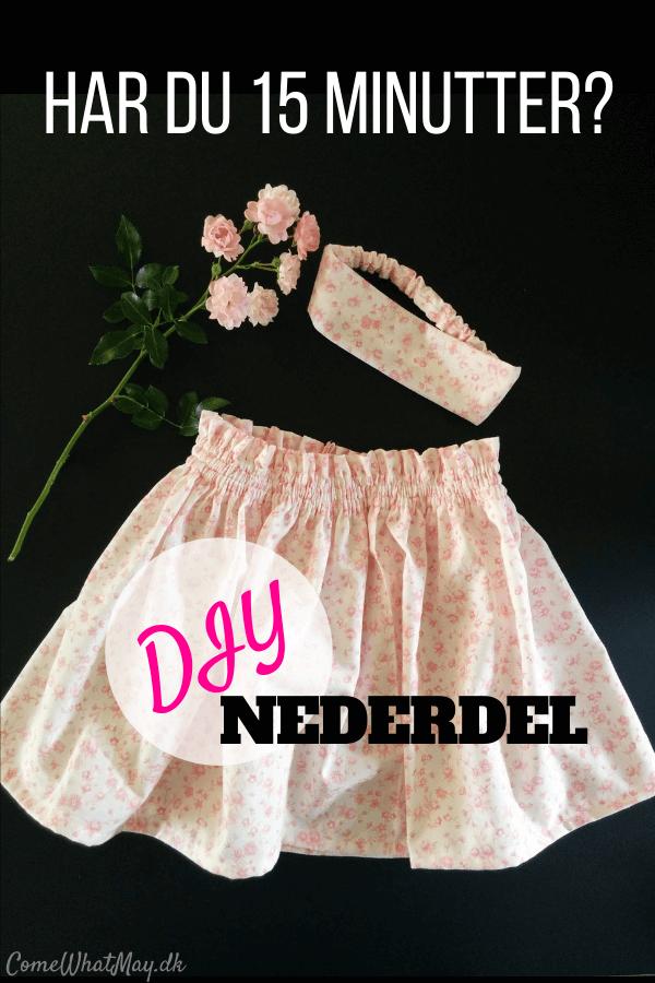 Sy en nem og sød nederdel, som er perfekt til sommer