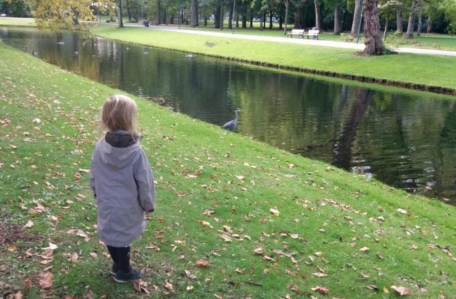 "Hyggelig tur gennem parken inden frokost på ""Spirit"" i Rotterdam Centrum"