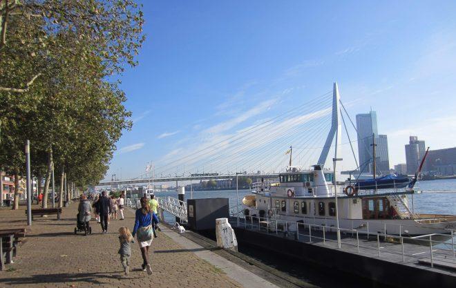 Erasmusbroen er en fantastisk konstruktion i Rotterdam