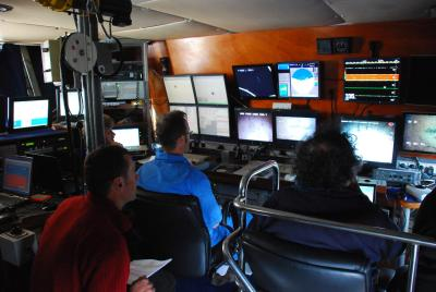 tableau commande navire comex mission