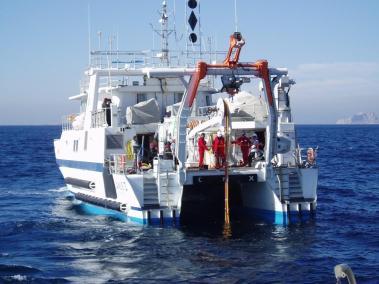 janus 2 navire de recherche de la comex