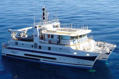 janus 2 navire oceanographique de la comex