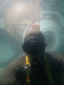 Simulation d'une plongée a 6 400 m d'amtitute par Frédéric Swierczynski