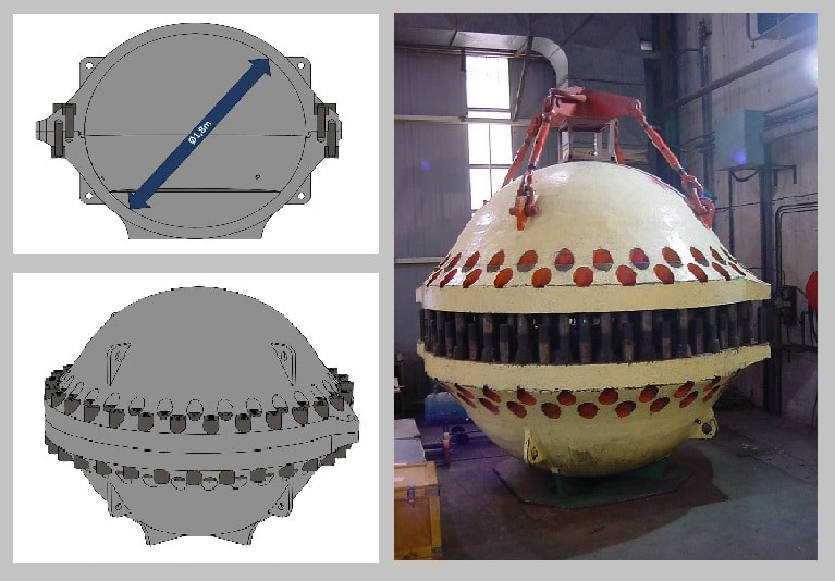 Caisson test hyperbare CE 4000