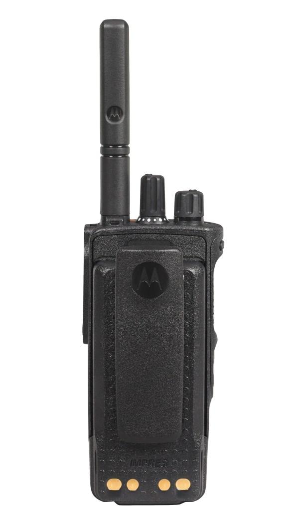 Motorola DP4800E achterkant | Comfective.nl