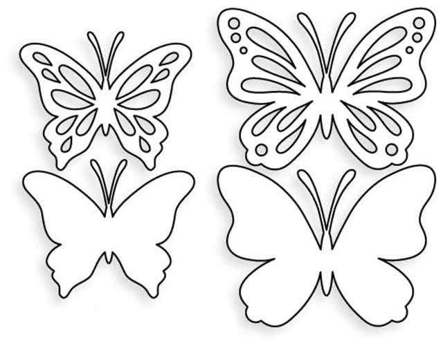 Бабочки для открыток шаблоны, прикольная картинка смешные