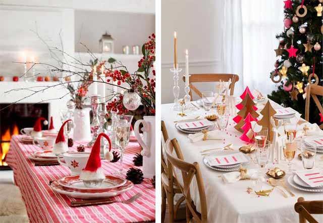 ukrashenie novogodnego stola