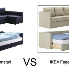 Manstad Sofa Bed Black Leather Recliner And Chair Guide To Buying Or Fagelbo Comfort Works Slipcover Ikea