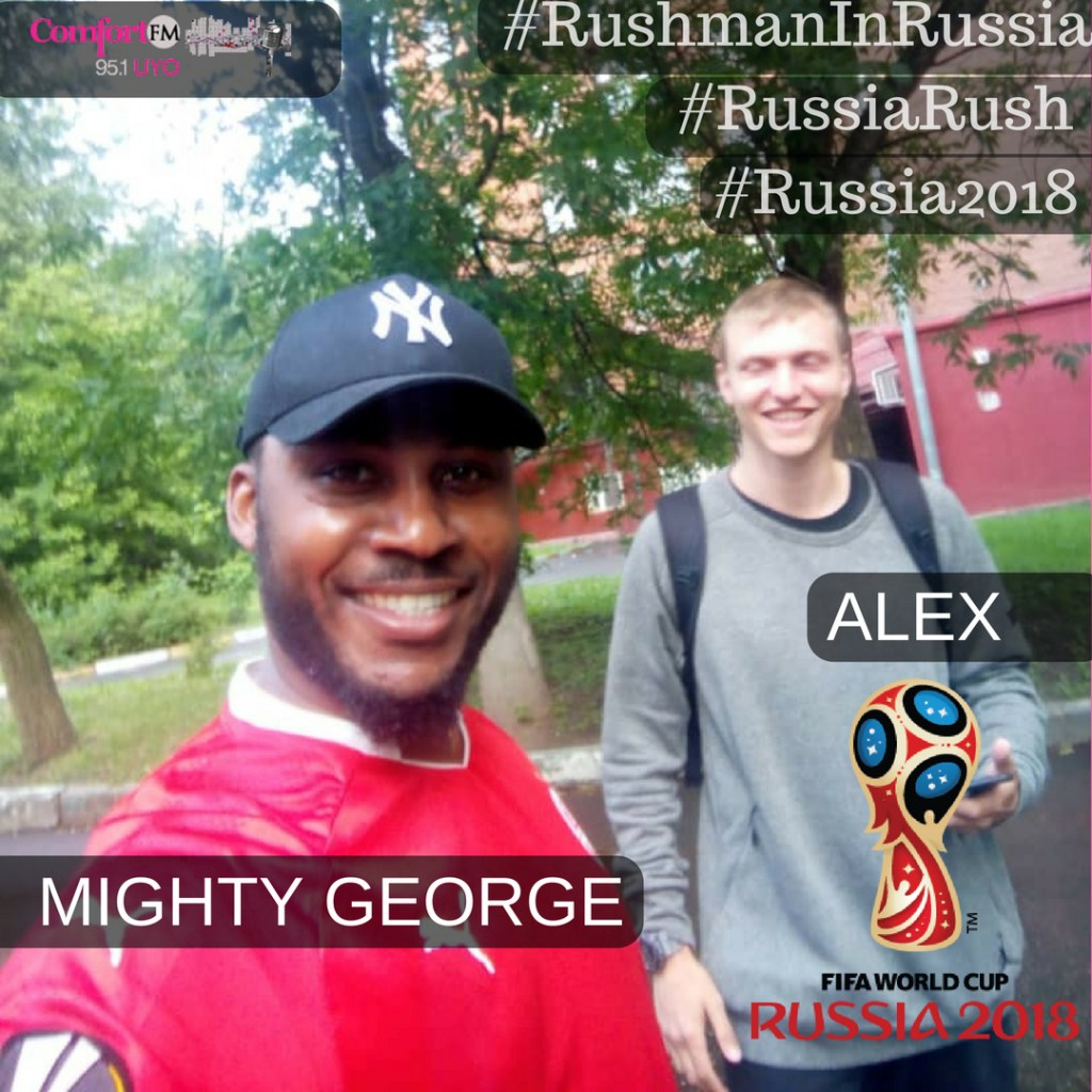 Mighty George Arrives Russia For The Fifa World Cup 2018