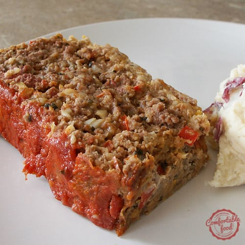 The Best Italian Style Meatloaf Comfortable Food