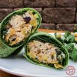Chipotle Chicken Salad Wrap