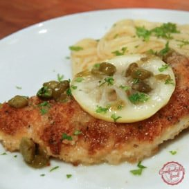 Light and zesty, super flavorful chicken piccata.