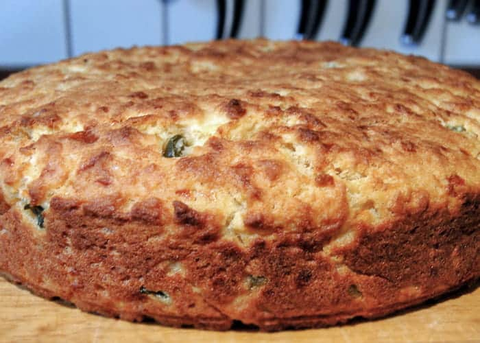 The Best Jalapeno Cheddar Cornbread from Comfortable Food.
