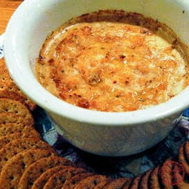 Delicious, Spicy Baked Crab Dip