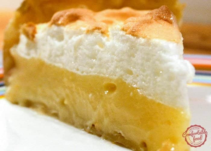 A sweet and tart lemon meringue pie recipe.