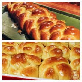These brioche rolls are the best hamburger buns ever.
