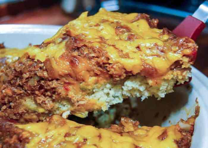A BBQ Chicken Cornbread Pie Recipe from Comfortable Food