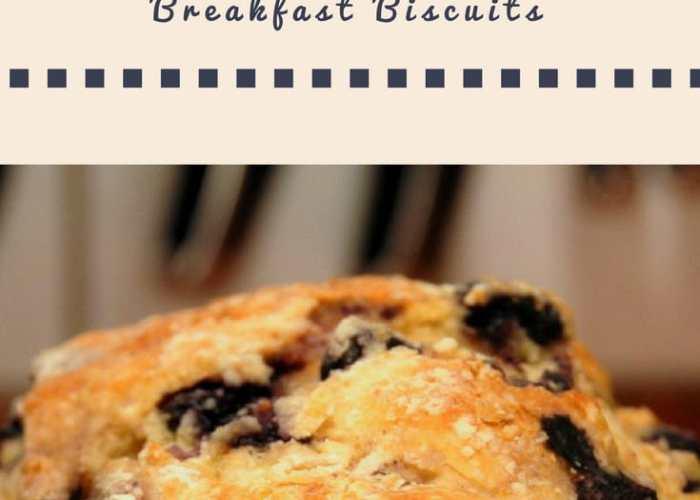 Blueberry buttermilk biscuit recipe.