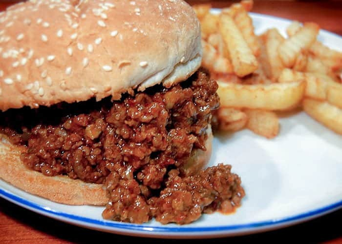An Easy Sloppy Joe Recipe from Comfortable Food.