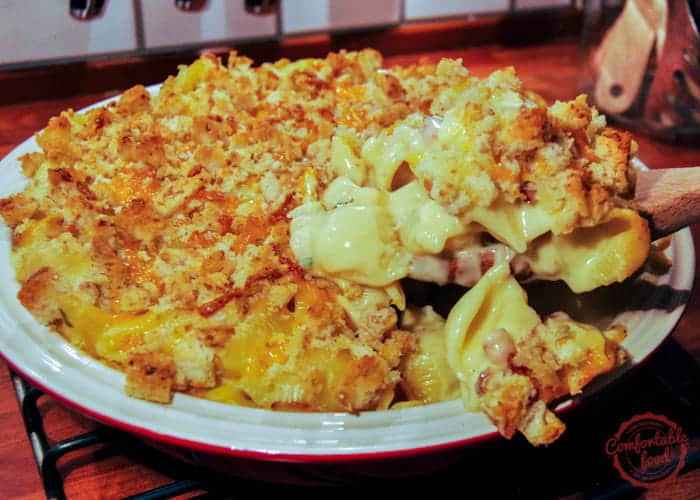 bacon, cheddar and jalapeno macaroni and cheese recipe