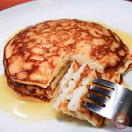 Old school Rice Griddle Cakes with the best butter sauce EVER.
