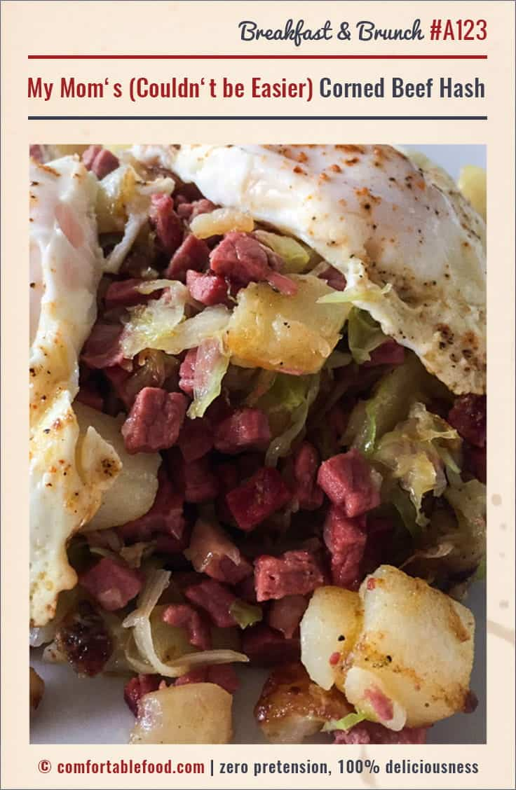 Couldn't be easier Corned Beef Hash recipe.