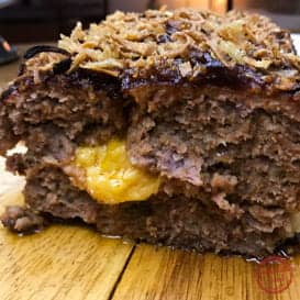 BBQ Bacon Cheeseburger Meatloaf & Video