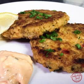 Perfectly Delicious Salmon Patties