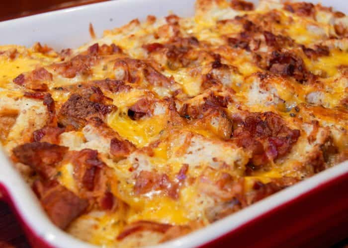 Bacon Egg And Cheese Breakfast Casserole Amp Video