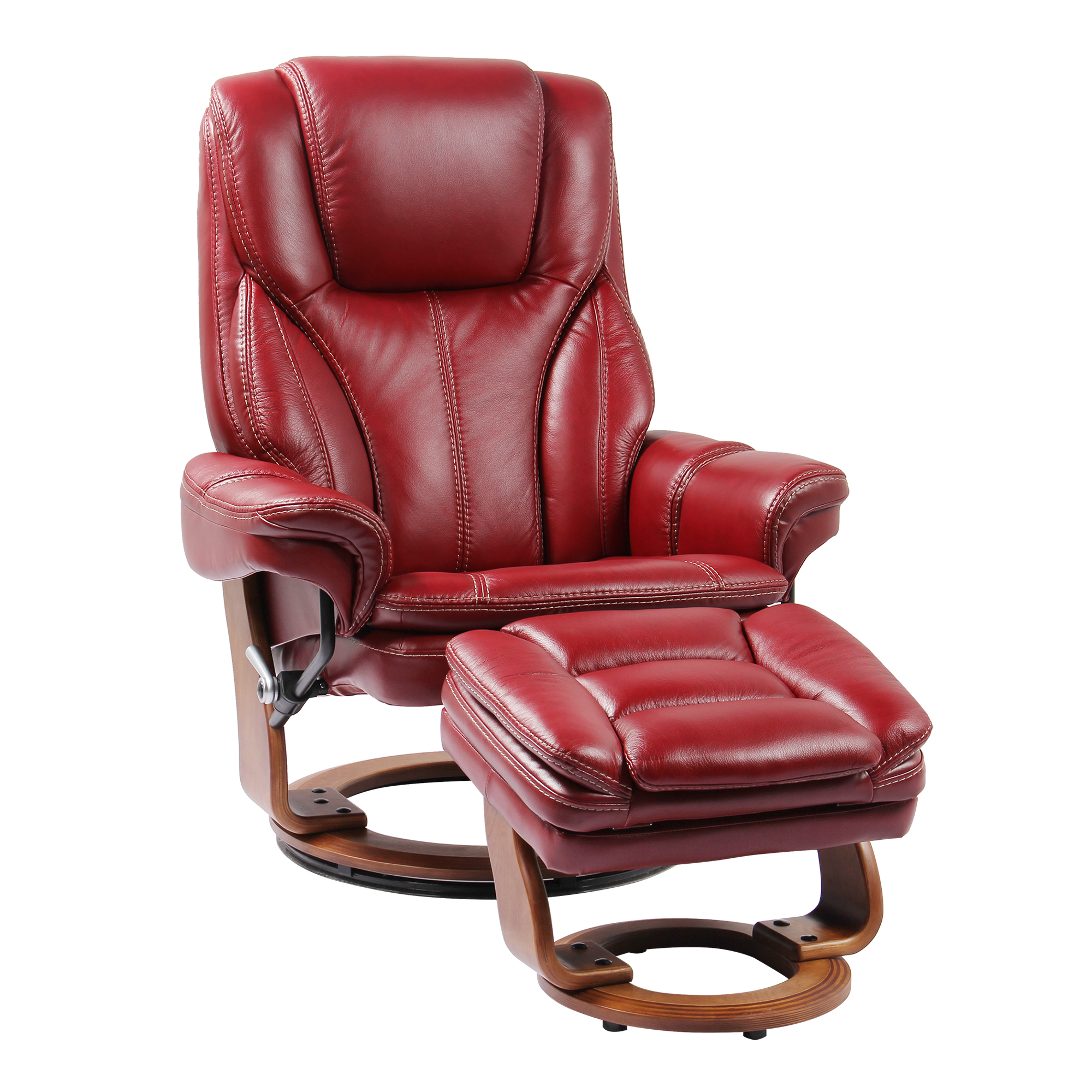 Reclining Chair And Ottoman Stress Free Hana Reclining Chair And Ottoman Comfort