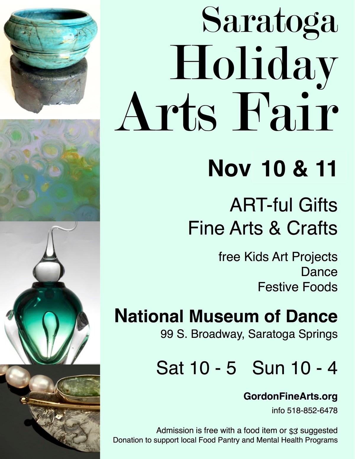Saratoga Holiday Arts Fair