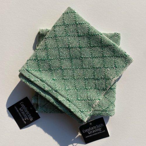 Face Towel Pattern 4 : Green