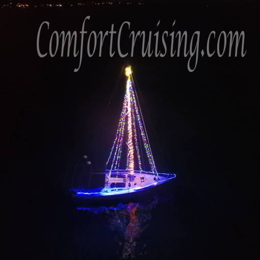 Sailboat Christmas Tree Lights