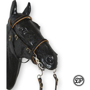 Soft Feel Baroque Deluxe Headstall Image
